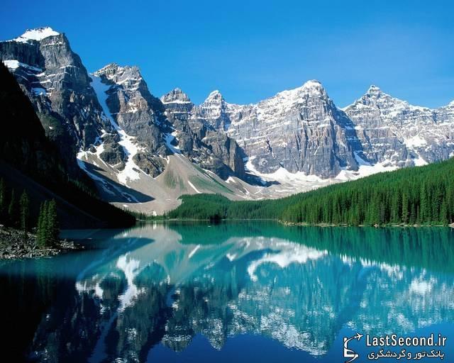 دره زیبا و رویایی 10 قله، کانادا