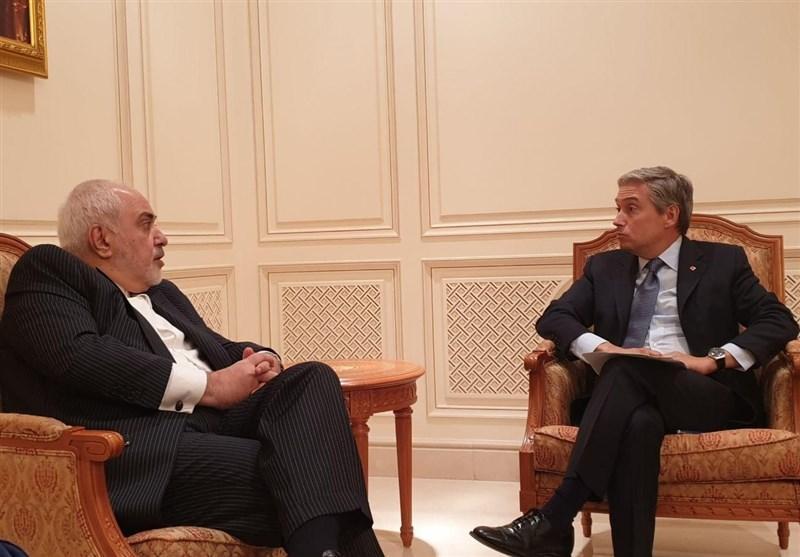 ملاقات ظریف و همتای کانادایی در عمان