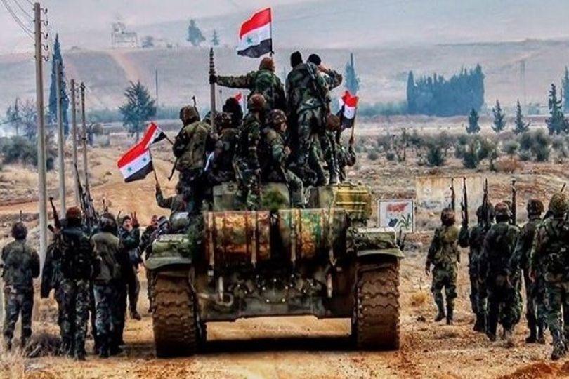 عملیات ارتش سوریه در غرب حلب شروع شد
