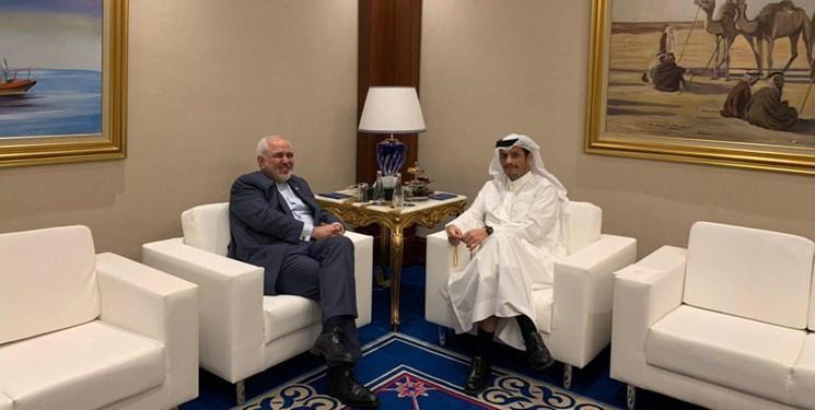 ظریف و وزیر خارجه قطر درباره اوضاع افغانستان تلفنی تبادل نظر کردند