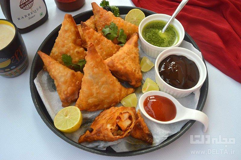 سمبوسه؛ غذای لذیذ هندی ها