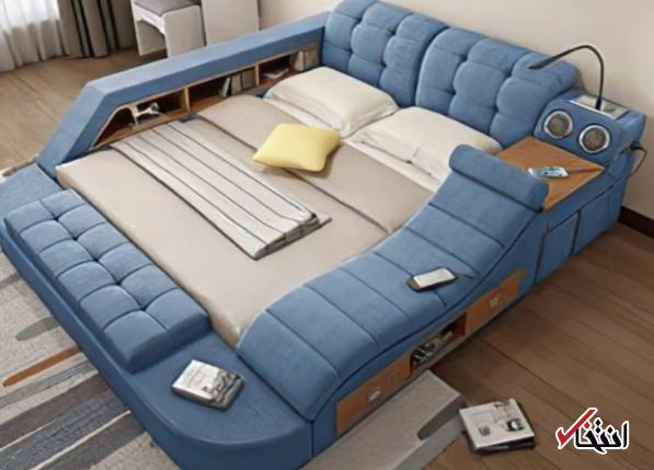 تختخواب هوشمندی که هوا را تصفیه می&zwnjکند